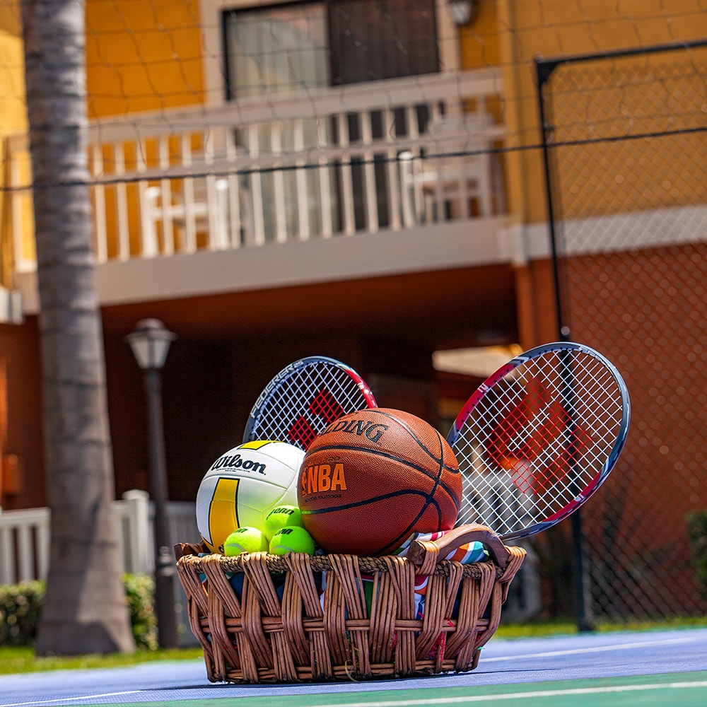 Sports Court at Clementine Hotel